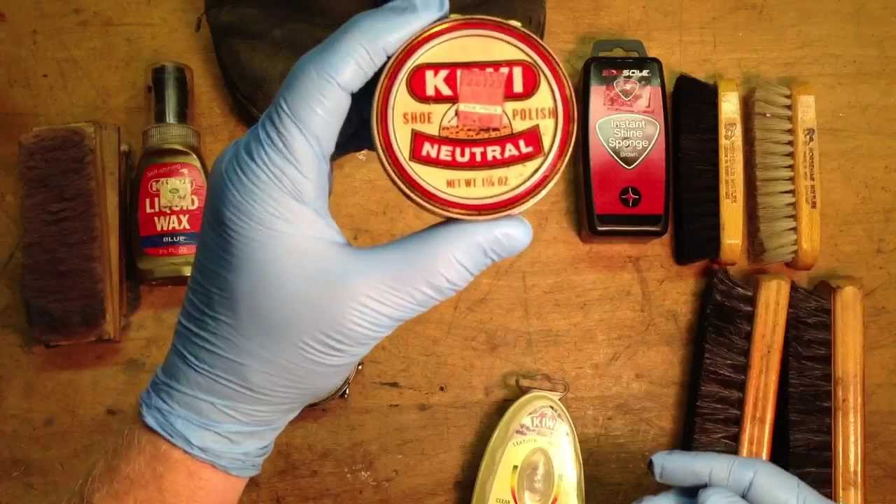 How to Open a Kiwi Shoe Polish